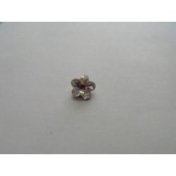 Cabochon Swarovski 4744 Fleur Cristal 8mm (x1)