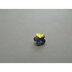 Cabochon Swarovski 4744 Fleur Cristal AB 8mm (x1)