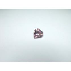 Coeur Swarovski à Sertir 11mm Light Amethyste 4800 (x1)