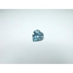 Coeur Swarovski à Sertir 11mm Aquamarine 4800 (x1)