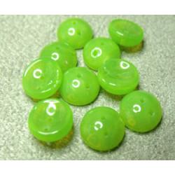 Perles Piggy Opal Olivine 4X8mm (Xenviron50)
