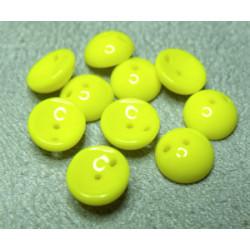 Perles Piggy Opaque Jonquille 4X8mm (Xenviron50)