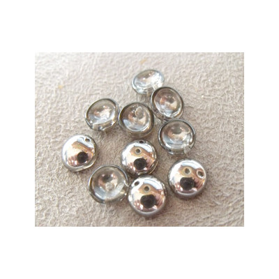 Perles Piggy Crystal Chrome 4X8mm (Xenviron50)