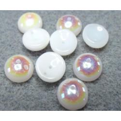 Perles Piggy Opaque Alabaster Ab 4X8mm (Xenviron50)