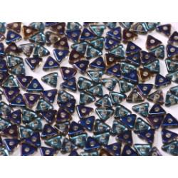 Perles Tri-Beads 4mm Crystal Azuro (X 5gr)