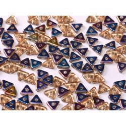 Perles Tri-Beads 4mm Crystal Sliperit (X 5gr)
