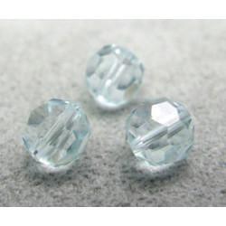 Perle ronde en cristal Swarovski 5000 6mm Light Azore (x10)