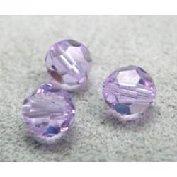 Perle ronde en cristal Swarovski 5000 6mm Violet (x10)