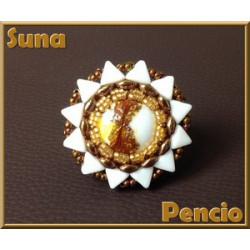 """Schéma de la """"Bague Suna"""" de Pencio"""