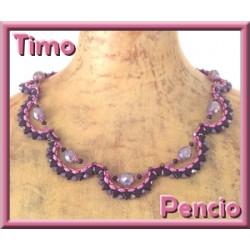 "Schéma du collier ""Timo"" de Pencio"
