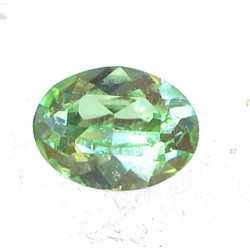 Cabochon oval 4120 8x6mm Chrysolite F (x1)