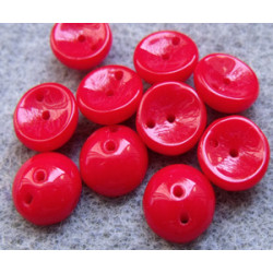 Perles Piggy Opaque Rouge 4X8mm (Xenviron50)