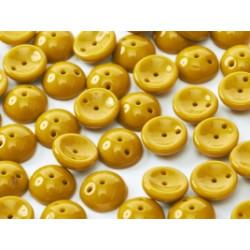 Perles Piggy Opaque Moutarde 4X8mm (Xenviron50)