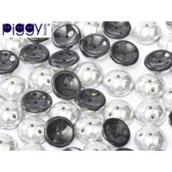 Perles Piggy Opaque jet Labrador 4X8mm (Xenviron50)
