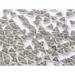 Perles Tri-Beads 4mm Crystal labrador Full (X 5gr)