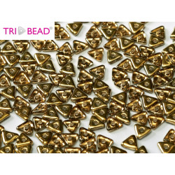 Perles Tri-Beads 4mm Rosaline Amber (X 5gr)