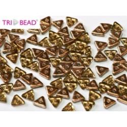 Perles Tri-Beads 4mm Peridot Capri Gold(X 5gr)