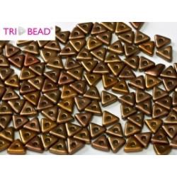 Perles Tri-Beads 4mm Brass Gold (x5gr)