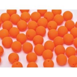 Facettes de Bohême 4mm Neon Orange (x100)