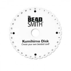 Kumihimo rond 15 cm (X1)