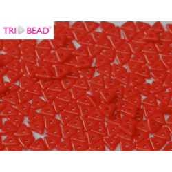 Perles Tri-Beads 4mm Red (X 5gr)