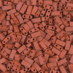 TLH2315 Tila 1/2 Cut Opaque Burnt Sienna (X5gr)