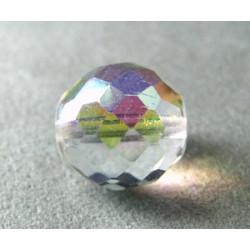 Facettes en verre de Bohême 16mm Cristal AB (x1)