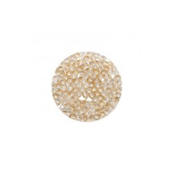 Crystal Fine Rock HF synthétique rond 24mm Crystal Golden Shadow (X1)