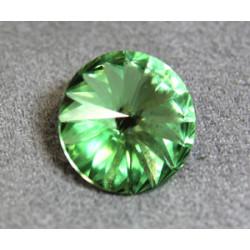 Rivoli 14mm 1122 Crystal Péridot Folied (x1)