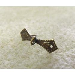 Bélière Losange Bronze 6X11mm (X1)