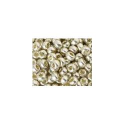 R15-4201 Rocaille 15/0 Galva Duracoat Silver (x5gr)