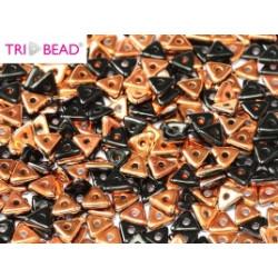 Perles Tri-Beads 4mm Jet Sunset (X 5gr)