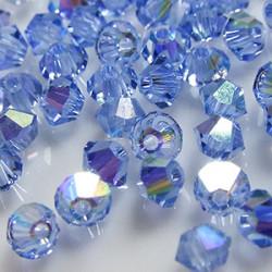 Toupies 3mm Light Sapphire AB - réf.5301 (x20)