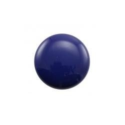 Cabochon Rond Galastyl 30X7mm Bleu Marine (X1)