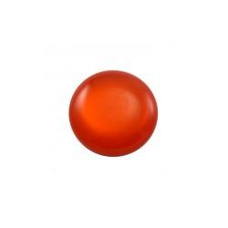 Cabochon rond Polaris 24mm Orange Brillant (X1)