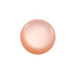 Cabochon rond Polaris 24mm Rose Peach Brillant (X1)