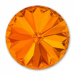 Rivoli rond 12mm Swarovski Tangerine (x1)