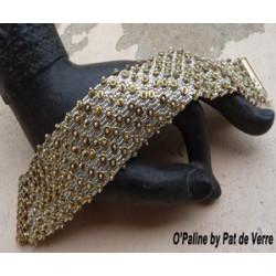 """Schéma du bracelet """"O'Paline"""" de Pat de Verre"""