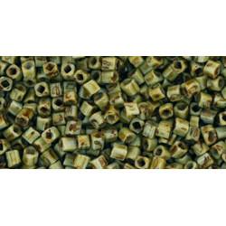 Cubes 1,5mm référence Y312 HYBRIDE Opaque Grey Picasso (X10gr)