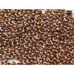 Perles Peanut 2x4mm Capri Gold Full (x5gr env)