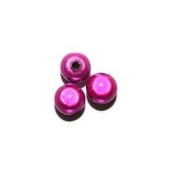 Perles Magiques Fuchsia 4mm (X50)
