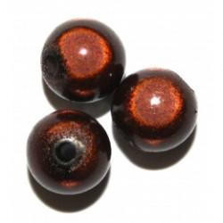 Perles Magiques Marron 4mm (X50)