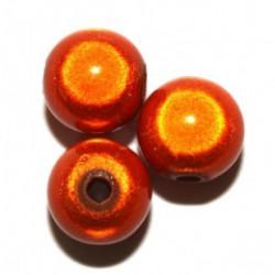Perles Magiques Orange 4mm (X50)
