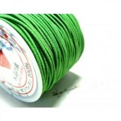 Fil élastique 1,5mm Vert le mètre (X1)