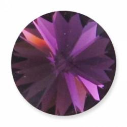 Rivoli 14mm 1122 Crystal Amethyst Folied (X1)