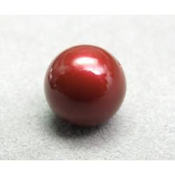 Perle ronde nacrée Swarovski 12mm Blackberry (x1)