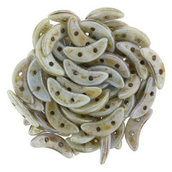 Perles Crescent Luster Green (X5gr)