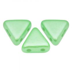 Perles khéops® par Puca® Pastel Very Light Green 6x3mm (X5gr)