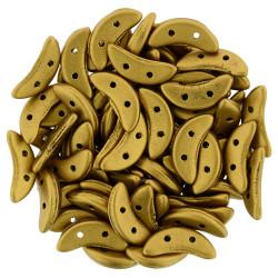 Perles Crescent Matte Metallic Antique Gold (X5gr)