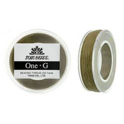 Fil One-G Toho Sand Ash 0,45mmX250m (X1)